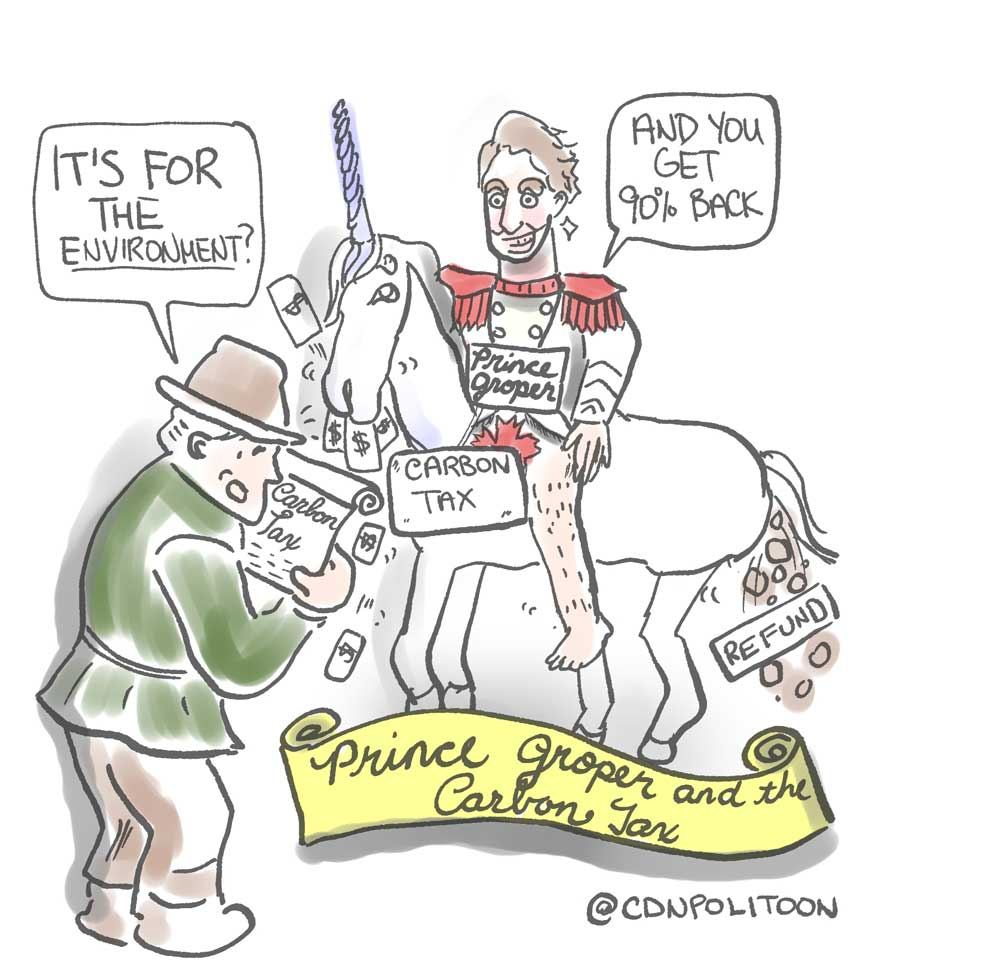 Prince Groper and Carbon Tax